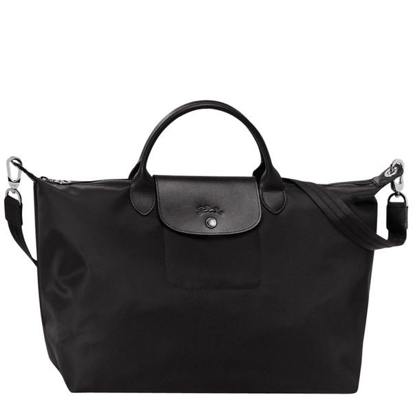 Longchamp - Le Pliage Néo Top Handle L Bag in Black