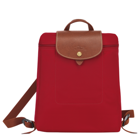 Longchamp - Le Pliage Backpack in Red
