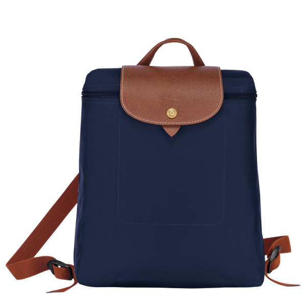 Longchamp - Le Pliage Backpack in Navy