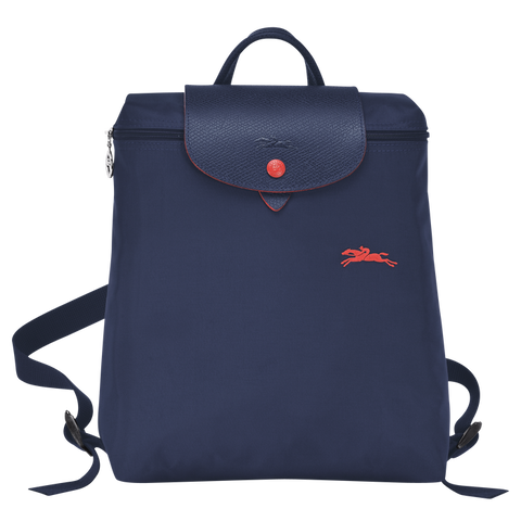 Longchamp - Le Pliage Club Backpack in Navy