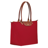 Longchamp - Le Pliage Large Tote Shoulder Bag in Red
