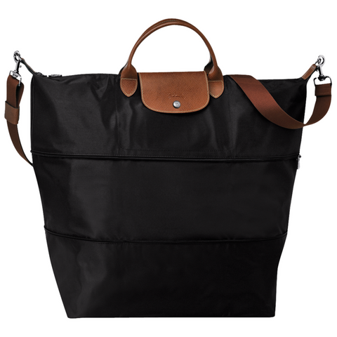 Longchamp - Le Pliage Travel Bag in Black
