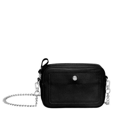 Longchamp - Le Foulonné Crossbody Bag in Black