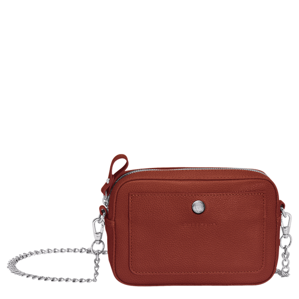 Longchamp - Le Foulonné Crossbody Bag in Chestnut