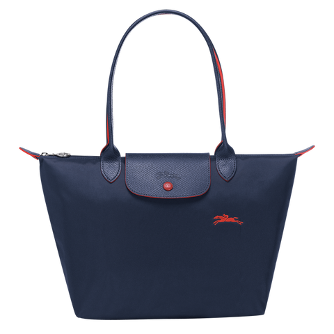 Longchamp - Le Pliage Club Tote Shoulder Bag S in Navy