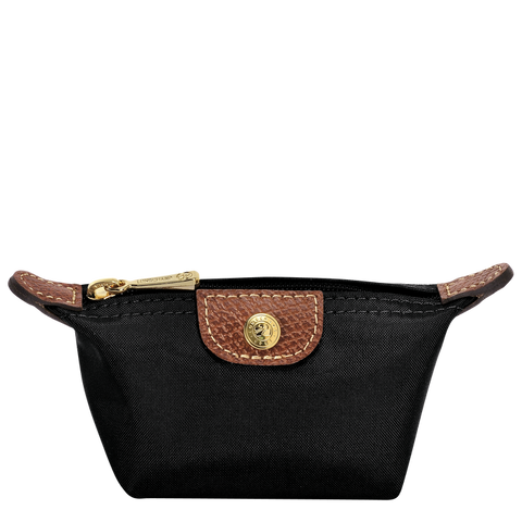 Longchamp - Le Pliage Coin Purse in Black