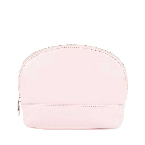 Barbour - Leather Makeup Bag in Pink