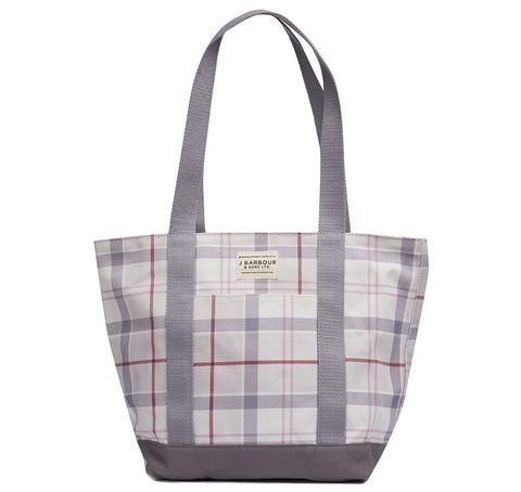 Barbour - Kirkaldy Tote Bag in Platinum Tartan
