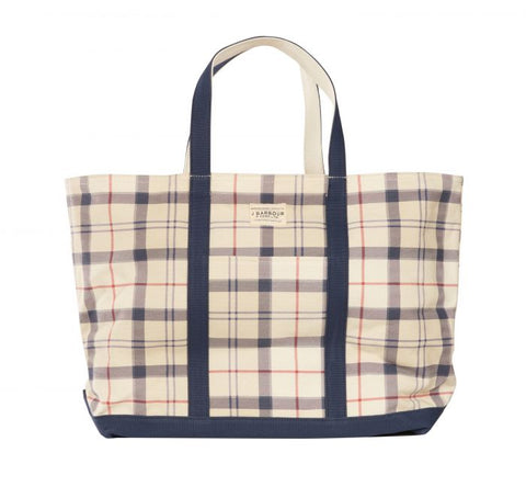 Barbour - Kirkwall Tote Bag in Summer Tartan