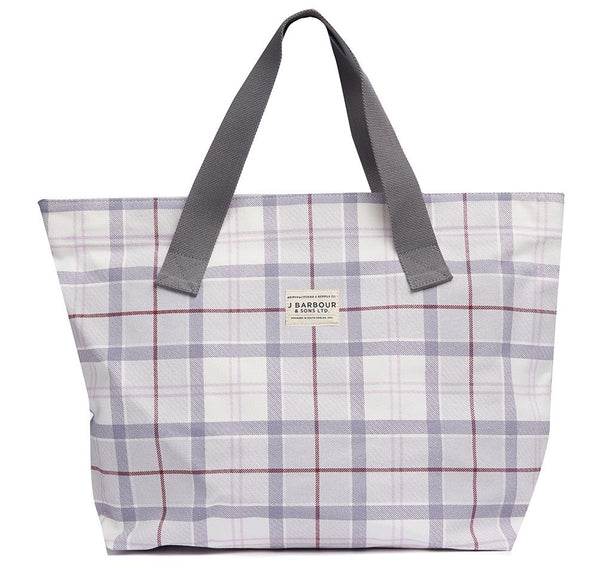 Barbour - Printed Shopper Bag Platinum Tartan