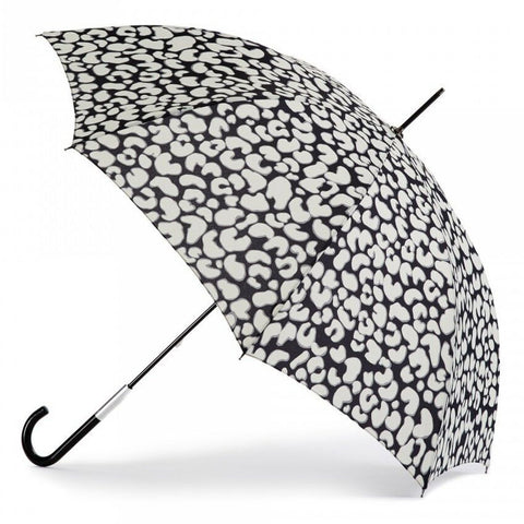 Lulu Guinness by Fulton Eliza 2 Leopard Walker Umbrella