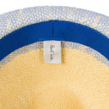 Paul Smith - Men's Two Tone Trilby Hat in Light Blue