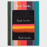 Paul Smith - Men's Mixed Boxer Briefs Three Pack in Black