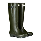 Hunter Men's Norris Field Wellington Boots in Dark Olive