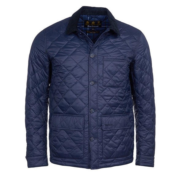 Barbour - Men's Hendle Quilted Jacket in Navy