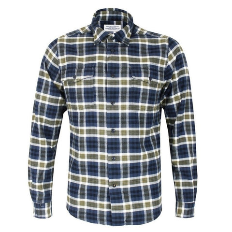 Barbour - Men's Rowlock Tailored Fit Shirt in Willow