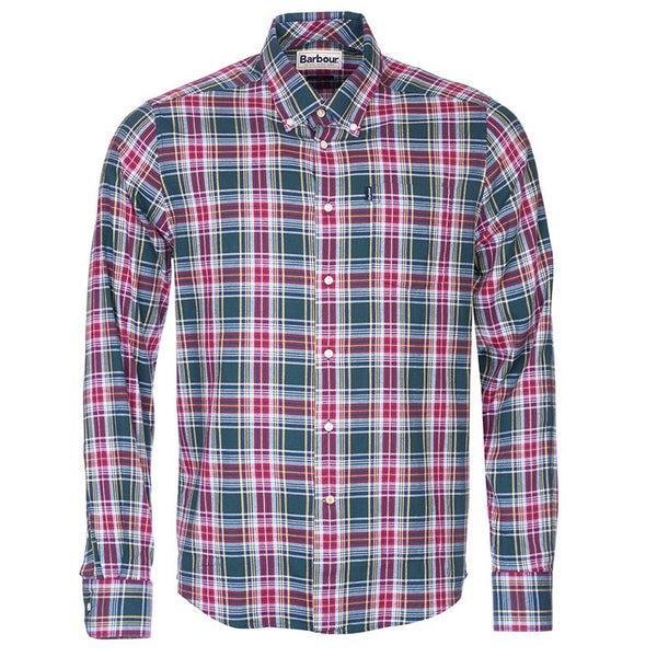 Barbour - Men's Warren Tailored Fit Shirt in Forest