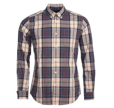 Barbour - Men's Sandwood Shirt in Stone