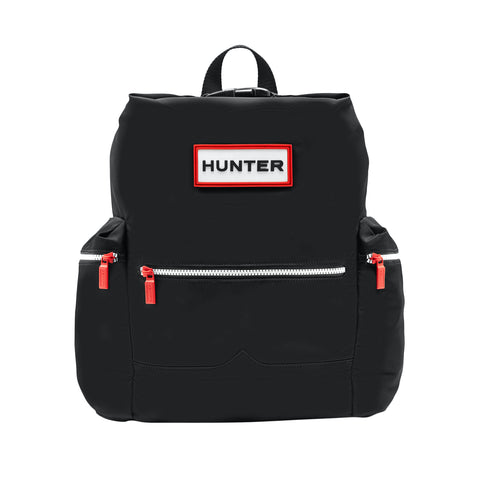 Hunter Original Top Clip Backpack - Nylon in Black