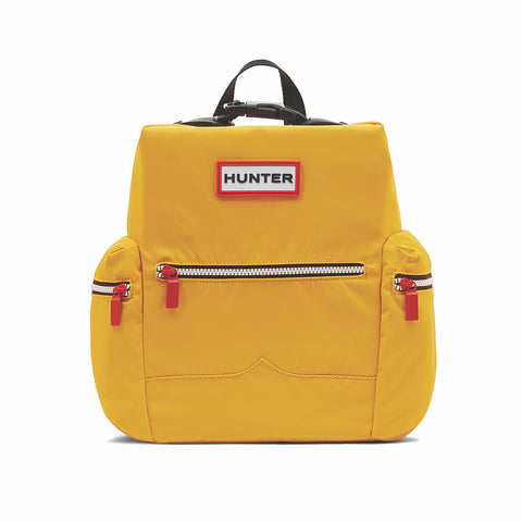 Original Mini Top Clip Backpack - Nylon in Yellow