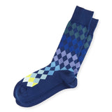 Paul Smith - Men's Harlequin Socks in Blue