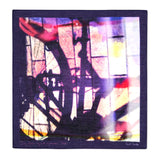 Paul Smith - Bicycle Shadow Photo Print Pocket Square - Pocket Square - Sinclairs Online - 1
