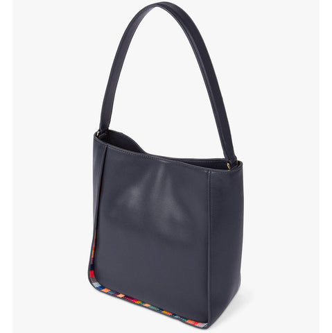 Paul Smith - Women's Leather Small Hobo Bag in Navy