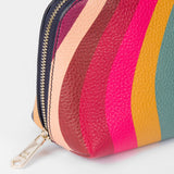 Paul Smith - Women's Swirl Print Leather Make-Up Pouch