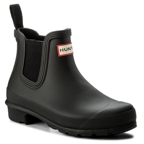 Hunter Women's Original Chelsea Boot in Black
