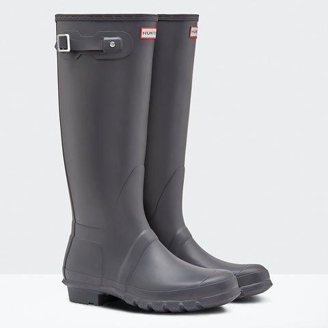 Hunter Women's Original Tall Wellington Boots in Dark Slate