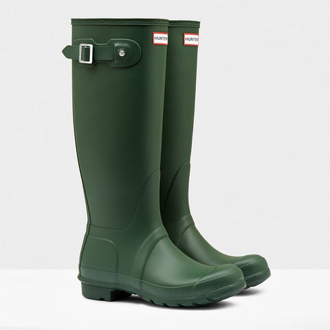 Hunter Women's Original Tall Wellington Boots in Hunter Green
