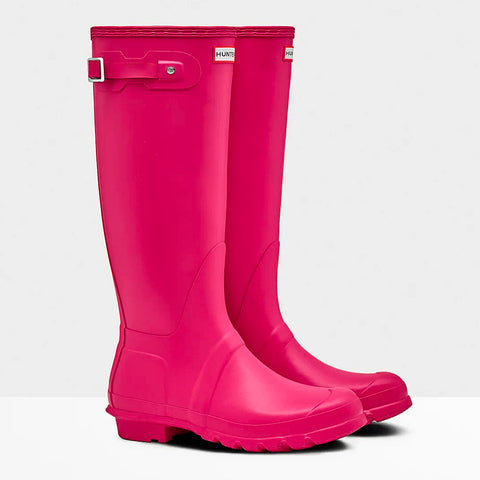 Hunter Women's Original Tall Wellington Boots in Bright Pink