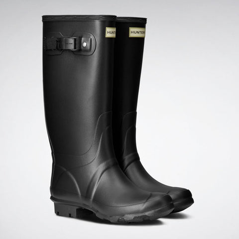 Hunter Women's Huntress Wide Leg Wellington Boots in Black