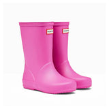Hunter Kids First Classic Wellington Boot in Lipstick