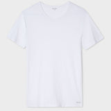 Paul Smith - Men's Crew Neck Short-Sleeve T-Shirt Two Pack in White