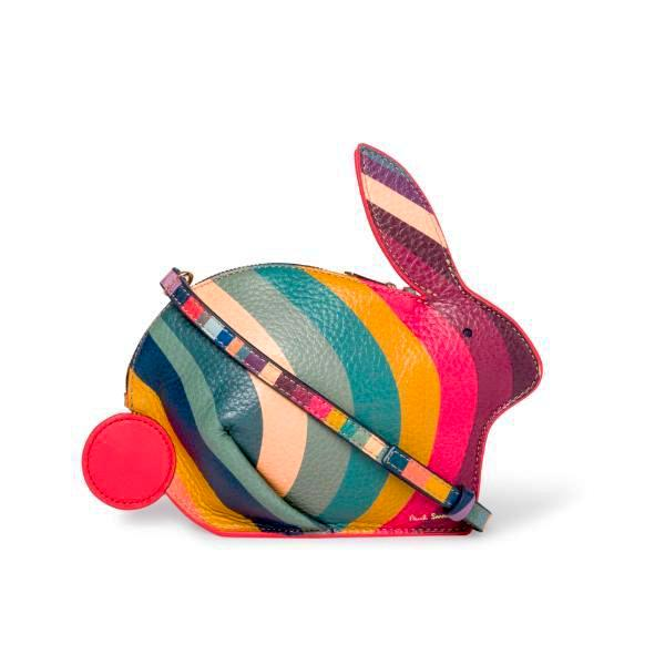 Paul Smith - Women's Swirl Print Leather Rabbit Crossbody Bag