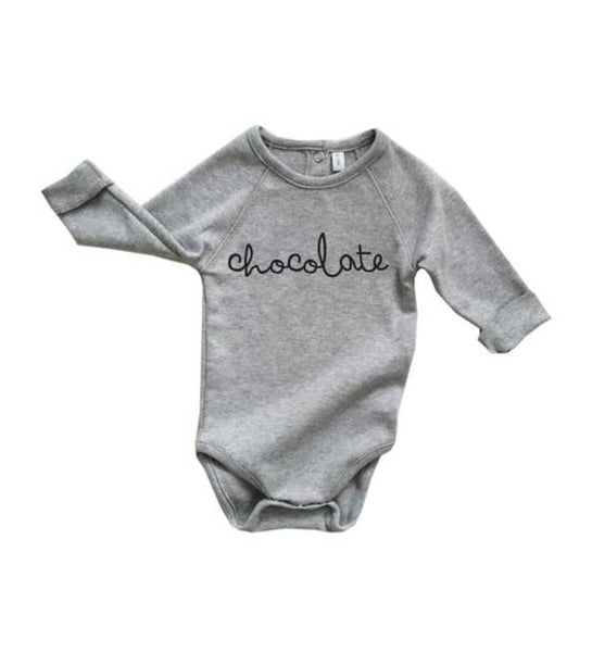 Grey Chocolate Bodysuit