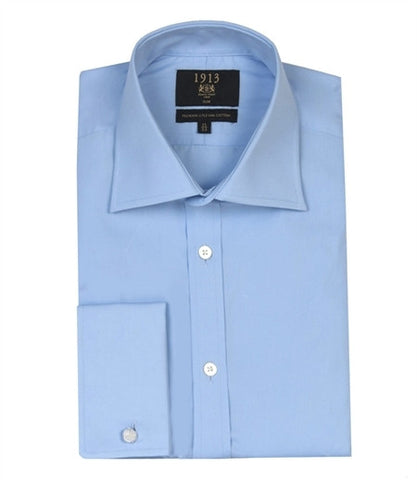 H&C St James Plain Poplin Shirt