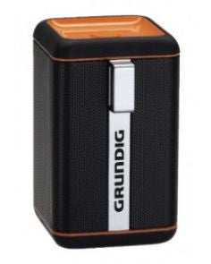 Grundig GSB 110 Bluetooth Speakers - Black/ Orange