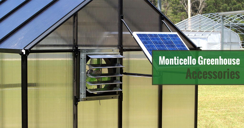 Monticello Greenhouse Accessories
