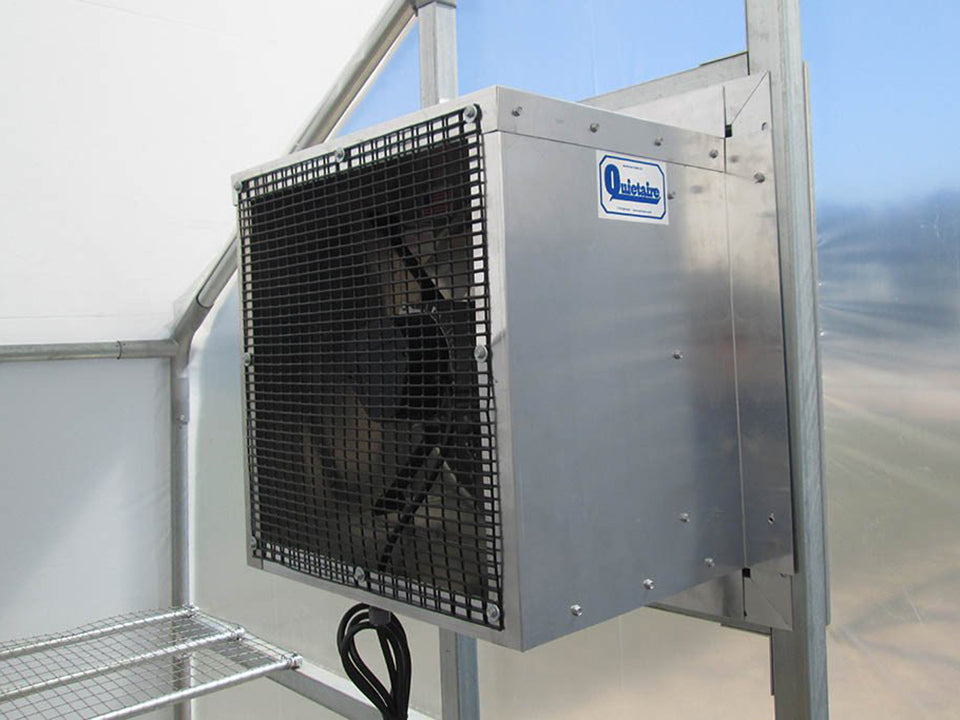 Riverstone Industries (RSI) 10ft x 27ft Carver Educational Greenhouse  R1027-P - electric heater