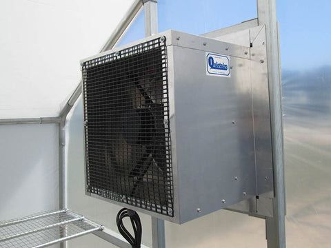 Image of Riverstone Industries (RSI) 10ft x 16ft Carver Educational Greenhouse  R1016-P - electric heater