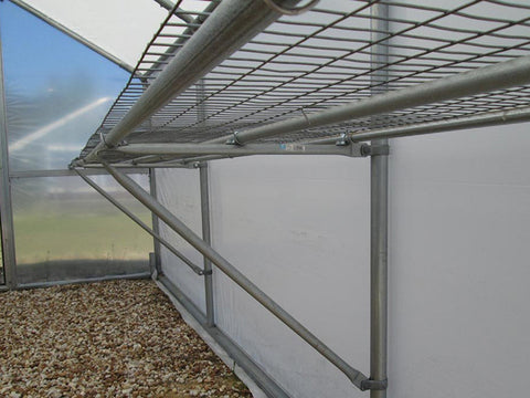 Image of Riverstone Industries (RSI) 10ft x 27ft Carver Educational Greenhouse  R1027-P - commercial workbenches