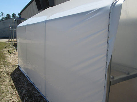 Image of Riverstone Industries (RSI) 10ft x 27ft Carver Educational Greenhouse  R1027-P - 63% shade cloth