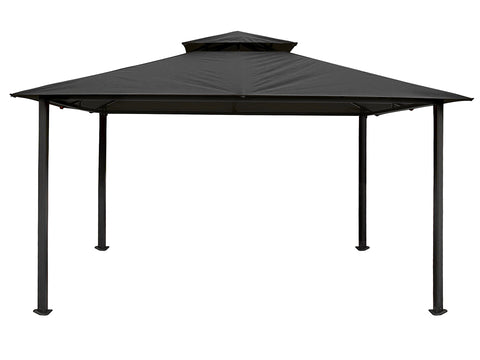 Bare Kingsbury Gazebo with Grey Top