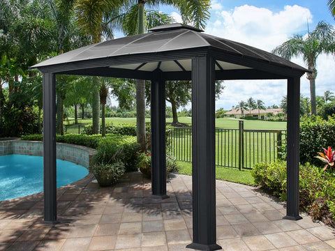 Paragon Cambridge Hard Top Gazebo 12ft x 12ft