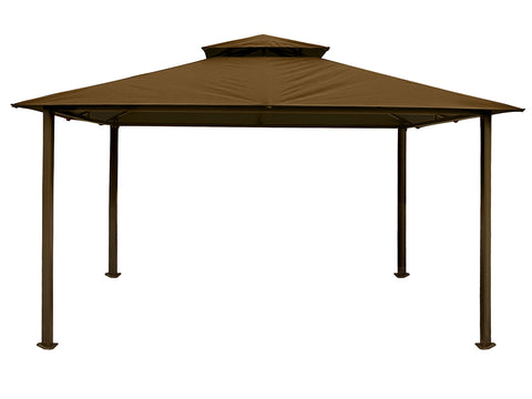Bare Kingsbury Gazebo with Cocoa  Top