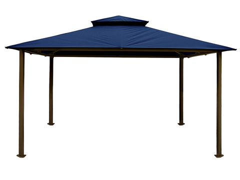 Bare Kingsbury Gazebo with Navy Top