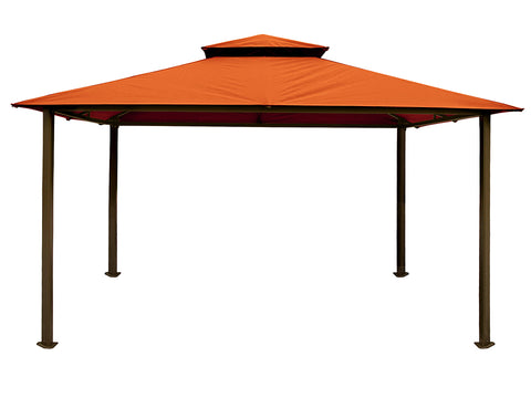 Bare Kingsbury Gazebo  with Rust Top