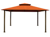 Image of Bare Kingsbury Gazebo  with Rust Top